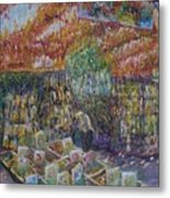 Flower Shop - Amsterdam Metal Print