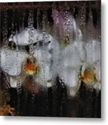 Flower Shop Window 2 Metal Print