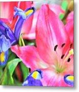 Flower Soft  Metal Print