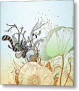 Flower Sol Metal Print