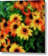 Flower Sunshine Metal Print