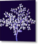 Flower Tree Metal Print