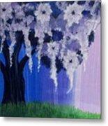 Flower Tree  Metal Print