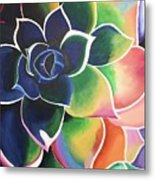 Flower Vibes Metal Print