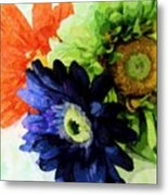 Flower X Three Metal Print
