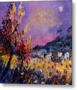 Flowered Landscape 569070 Metal Print