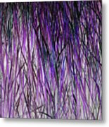 Flowering Grass Of The Future Metal Print