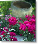 Flowering Landscape Metal Print