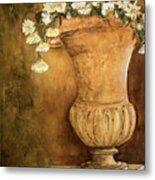 Flowering Urn Metal Print