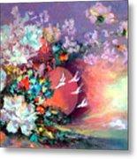 Flowers 02 Metal Print