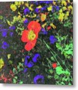Flowers After Mass Metal Print