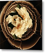 Flowers And Chocolate Metal Print