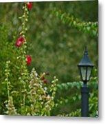 Flowers And Lanterns Metal Print