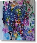 Flowers For Fred Metal Print