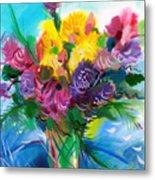 Flowers For My Jesus Metal Print