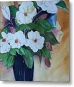 Flowers For The Table Metal Print