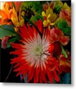 Flowers From Dad Metal Print