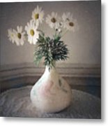 Flowers In A Pot Metal Print