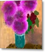Flowers In Room Metal Print
