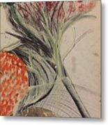Flowers No 2 Metal Print by Gregory Dallum