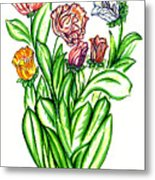 Flowers Of Fantasy Metal Print