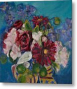 Flowers Of Remembrance Metal Print
