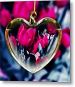 Flowers Of The Heart Metal Print