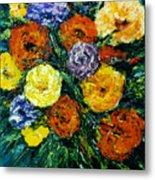 Flowers Painting #191 Metal Print