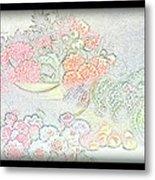 Flowers Painting  Metal Print