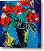 Flowers Roses Metal Print