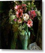 Flowers Still Life Metal Print