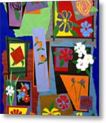 Flowers Study 1 Metal Print by Teddy Campagna
