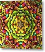 Flowerscales 62 Metal Print
