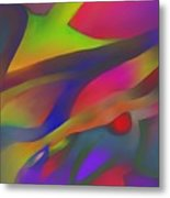 Flowing Energies Metal Print
