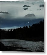 Flowing Into The Night Metal Print