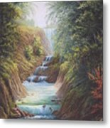 Flowing River Metal Print