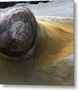 Flowing Rock 1 Metal Print