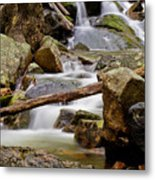 Flowing Stream Metal Print