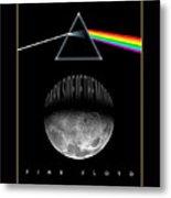 Floyd The Darkside Metal Print