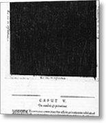 Fludds Dark Universe, 1617 Metal Print