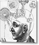 Fludds Mental Faculties, 1617 Metal Print