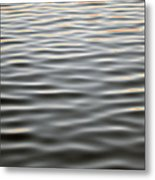Fluid  Metal Print