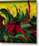 Flurry Of Feathers Metal Print