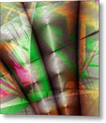 Flutes Of Osiris Metal Print