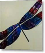 Fly Away Dfly Metal Print