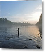 Fly Fishing 2 Metal Print