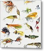 Fly Fishing I Metal Print