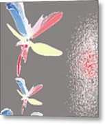 Fly In The Wing Metal Print