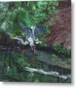 Fly Me Away To Little River Metal Print
