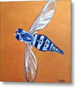 Fly West Metal Print